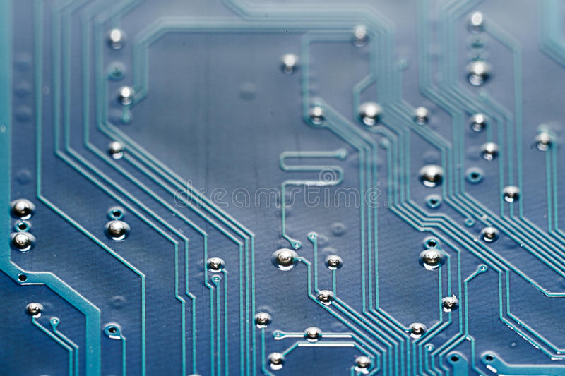 Green Printed Industrial Circuit Board Texture Stock Image Image
