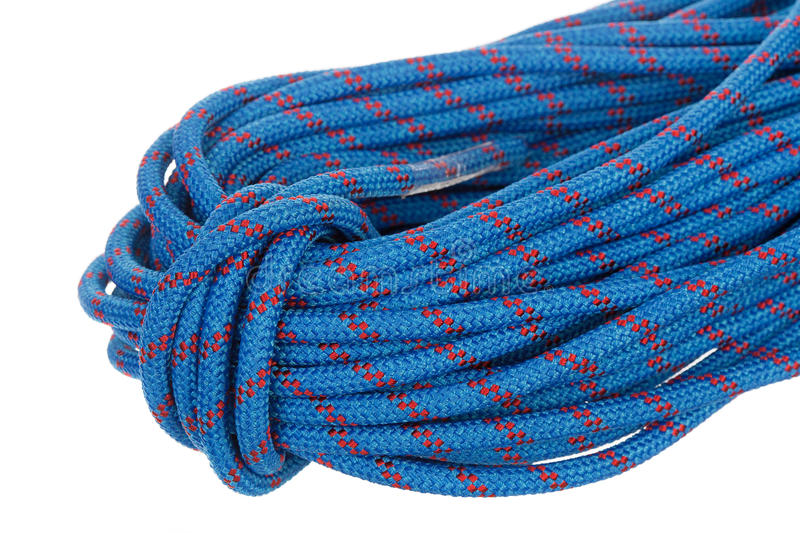 Download Blue Climbing Rope Stock Image - Image: 23369091