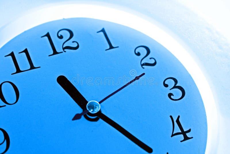Download Blue clock stock image. Image of hour, gone, deadline - 2905589