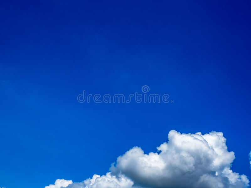 Blue clouds and sky background. Blue sky with cloud closeup stock images