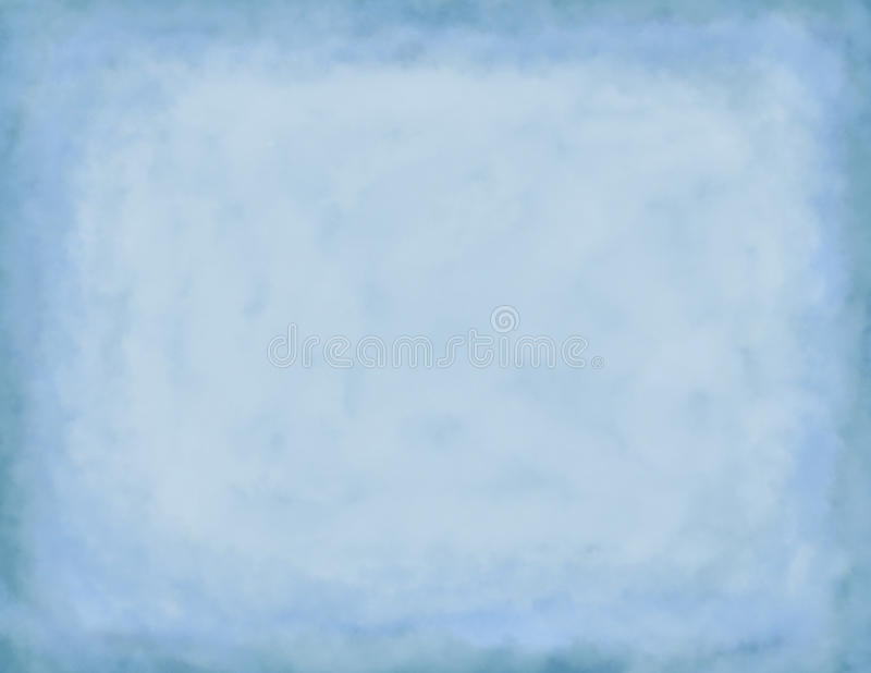 Blue Cloudy Background stock image