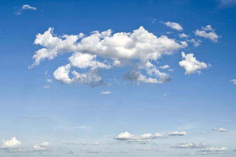 Blue Cloudy Sky Free Public Domain Cc0 Image