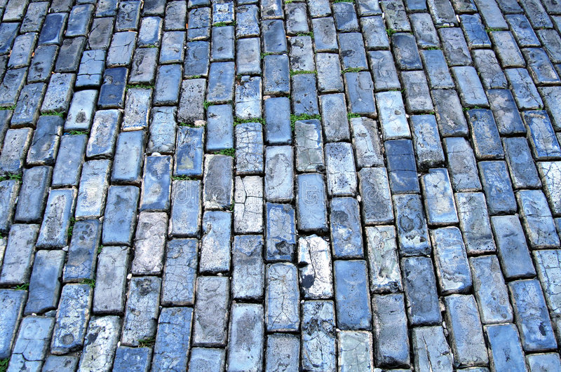Download Blue cobblestone stock image. Image of detail, background - 4854787
