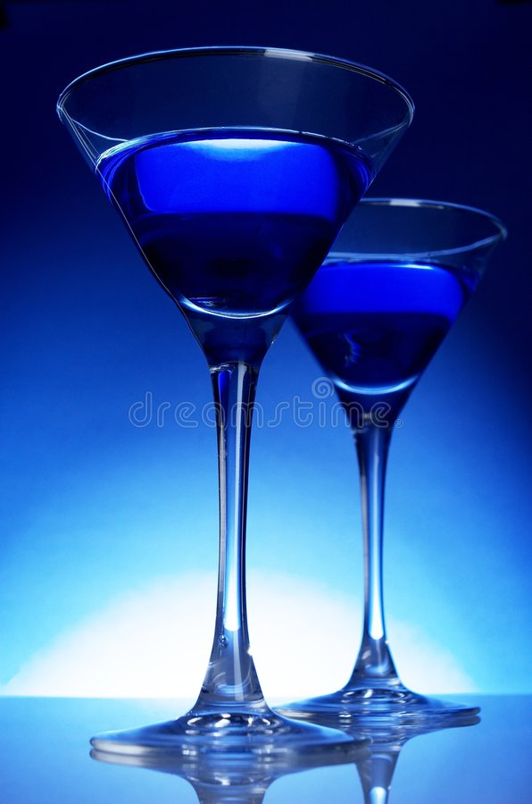 Free Blue Coctail Royalty Free Stock Image - 5342846