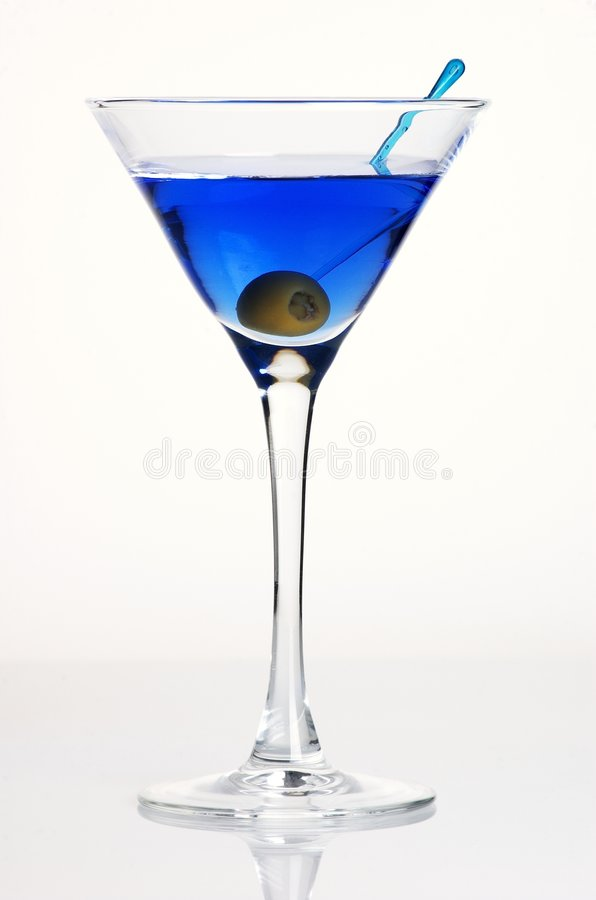 Free Blue Coctail Stock Photography - 5342962