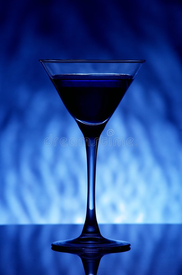 Free Blue Coctail Stock Image - 5342991