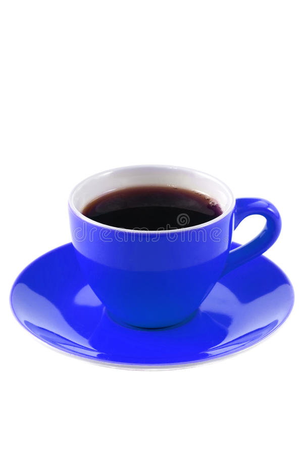 Blue Coffee Cup Stock Images