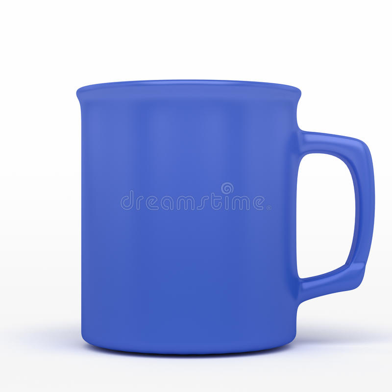 Free Blue Coffee Mug Royalty Free Stock Photo - 29381555