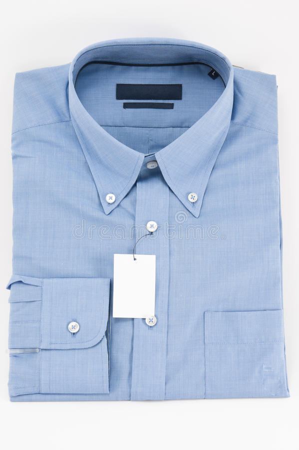 Download Blue Collar And Long Sleeves Shirt Stock Image - Image: 25300173