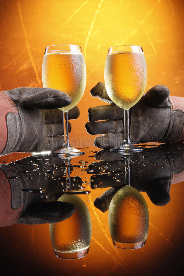 Download Blue collar wine stock photo. Image of restaurant, glasses - 10205164