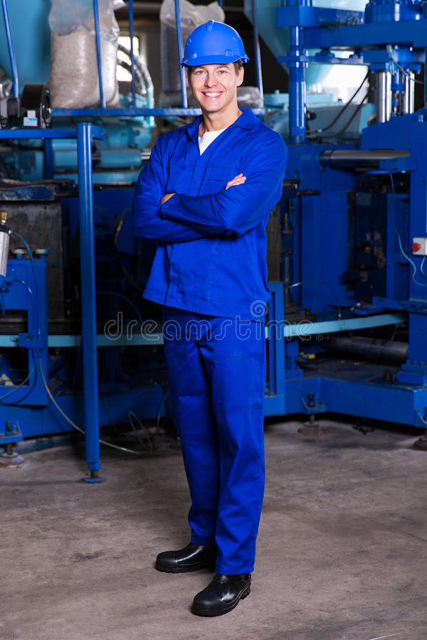 blue collar worker royalty free stock images