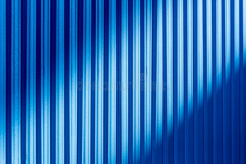Blue Color Corrugated Metal Sheet Stock Illustration