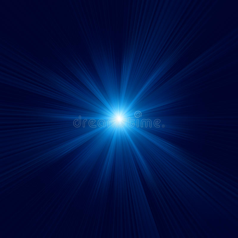 Free Blue Color Design With A Burst. EPS 10 Stock Photos - 32374583