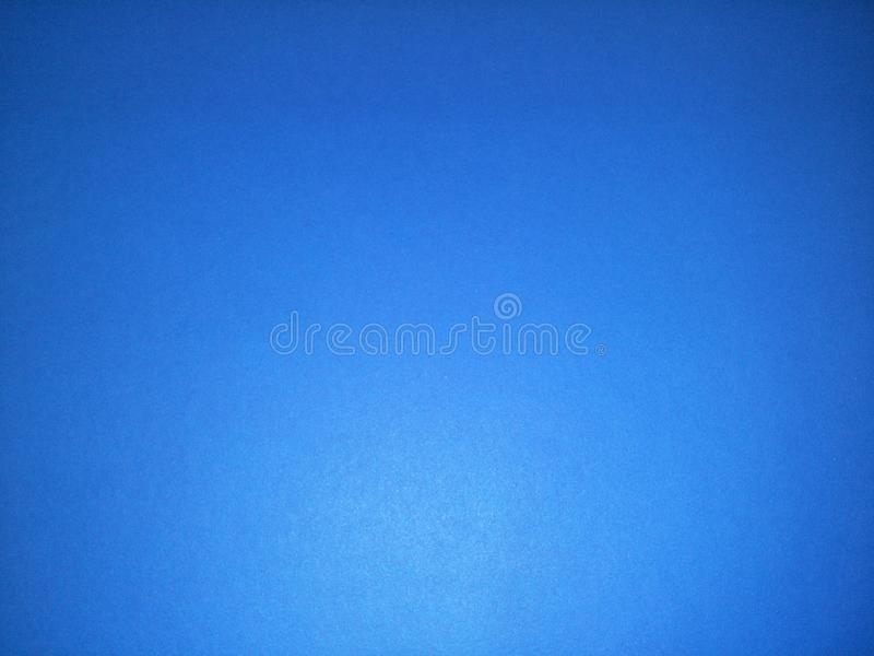 Blue color of poster paper. stock photo
