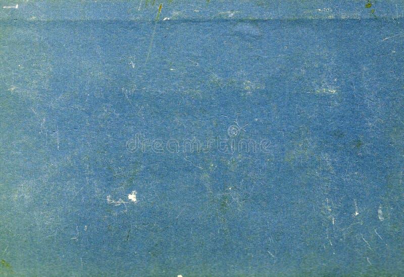 Blue color scratched paper texture. stock images