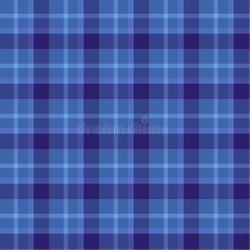 Download Blue Colored Tartan Seamless Pattern Stock Illustration - Image: 19852905
