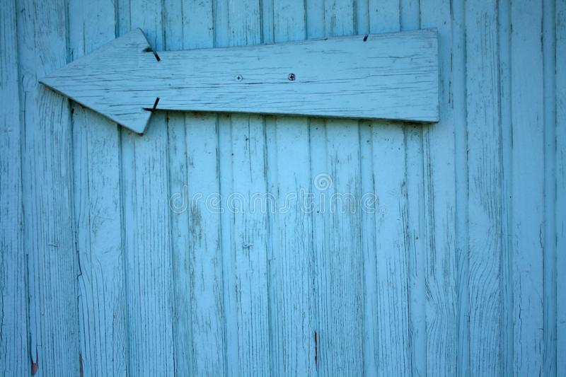 Blue color wood wall royalty free stock images