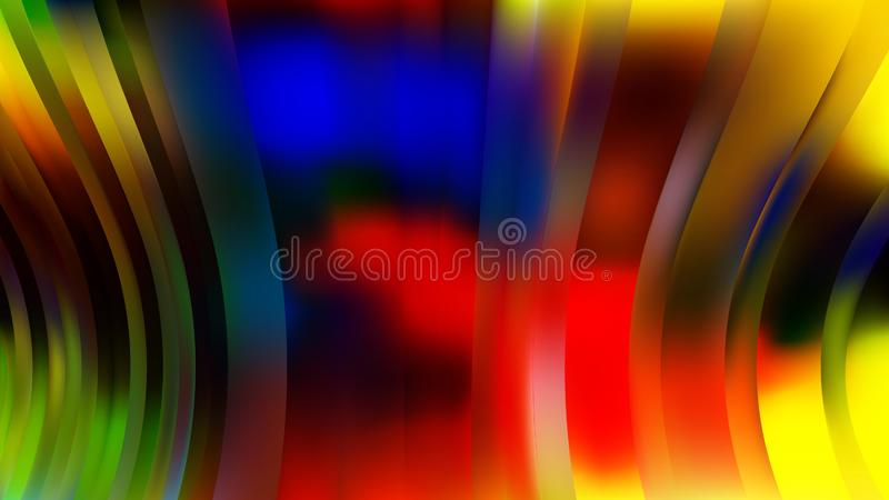 Blue Colorfulness Orange Background Beautiful elegant Illustration graphic art design Background. Image royalty free illustration