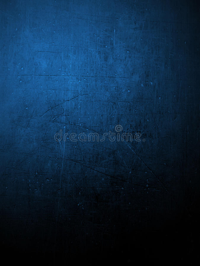 Blue coloured plaster wall royalty free illustration