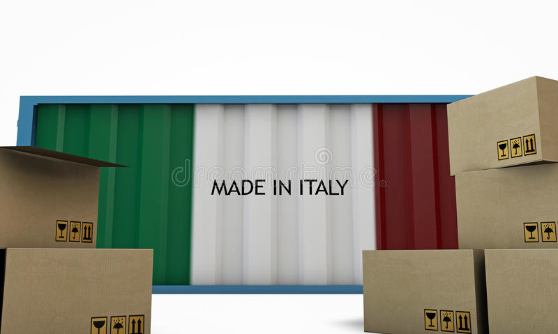 Blue Container Stock Photos