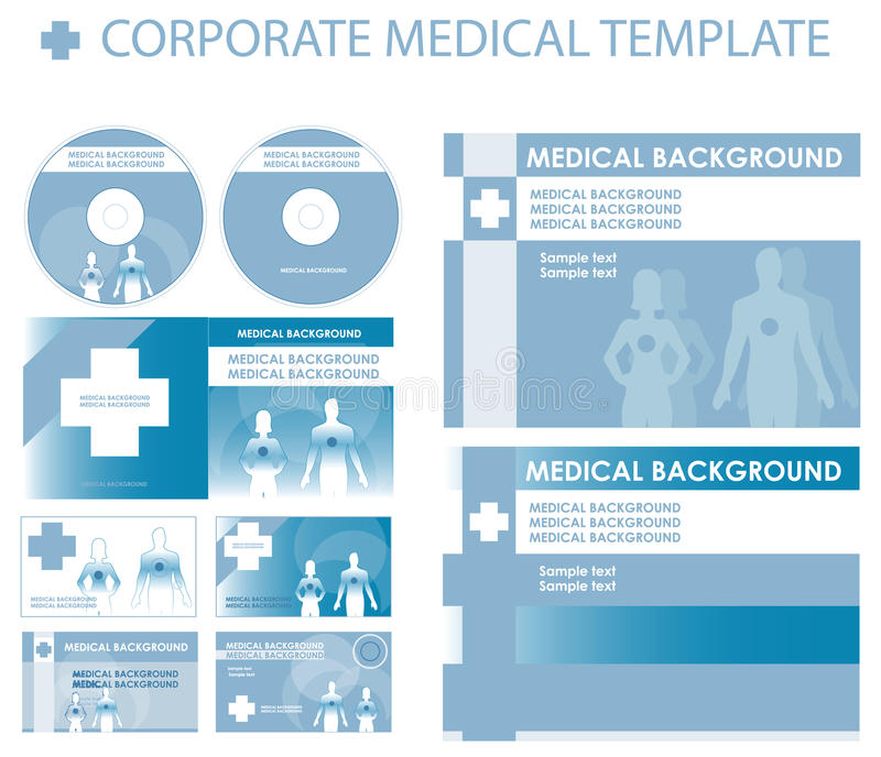 Blue Corporate medical presentation