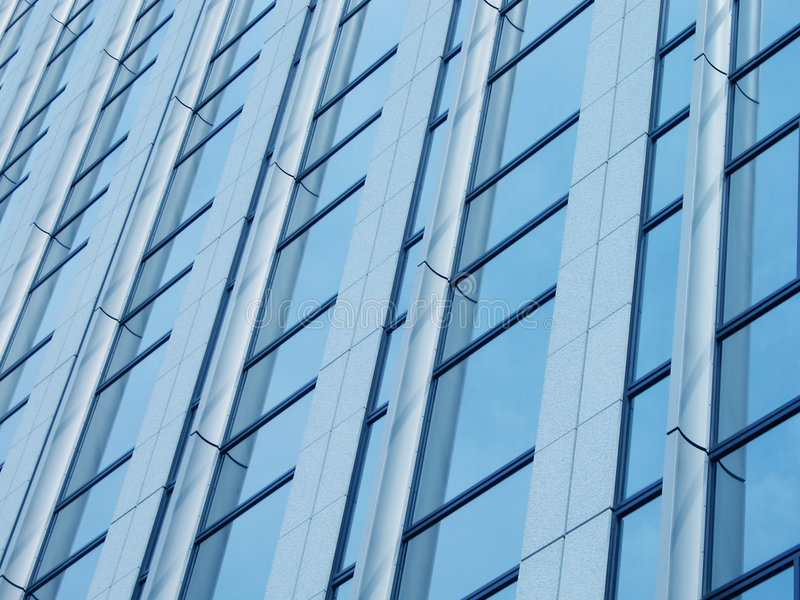 Download Blue corportate detail stock image. Image of corporate, windows - 88523