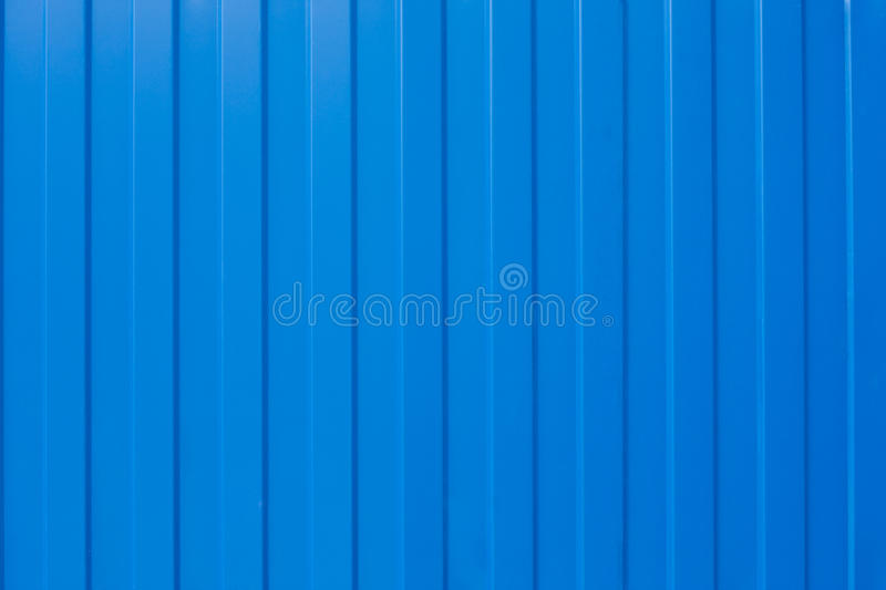 Download Blue corrugated iron stock photo. Image of blue, material - 19913588