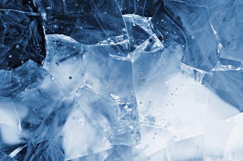 Download Blue cracked glass stock photo. Image of cracks, composition - 28856376