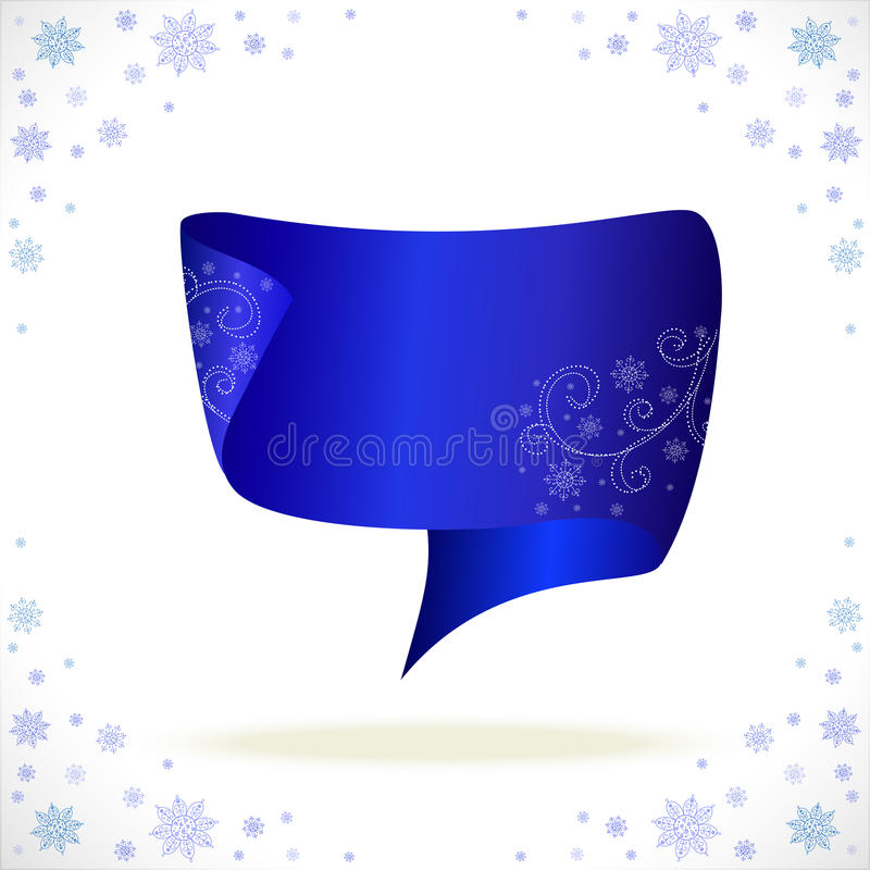 Download Blue Cristmas Tape For Your Business Stock Vector - Image: 27712885