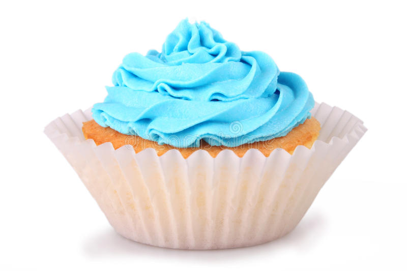 Blue Cupcakes royalty free stock photography