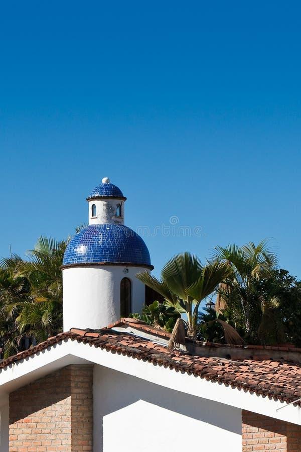 Blue Cupola Stock Photography