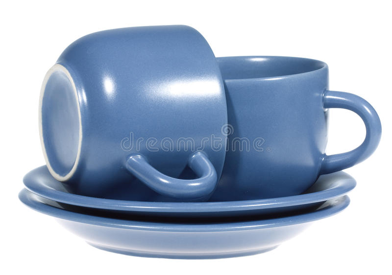 Download Blue cups stock photo. Image of object, product, bright - 12395308