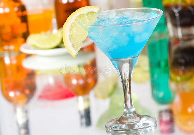 Download Blue Curacao Cocktail Stock Photography - Image: 20096342