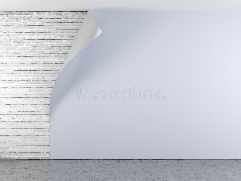Download Blue curled wallpaper stock illustration. Image of design - 32142496