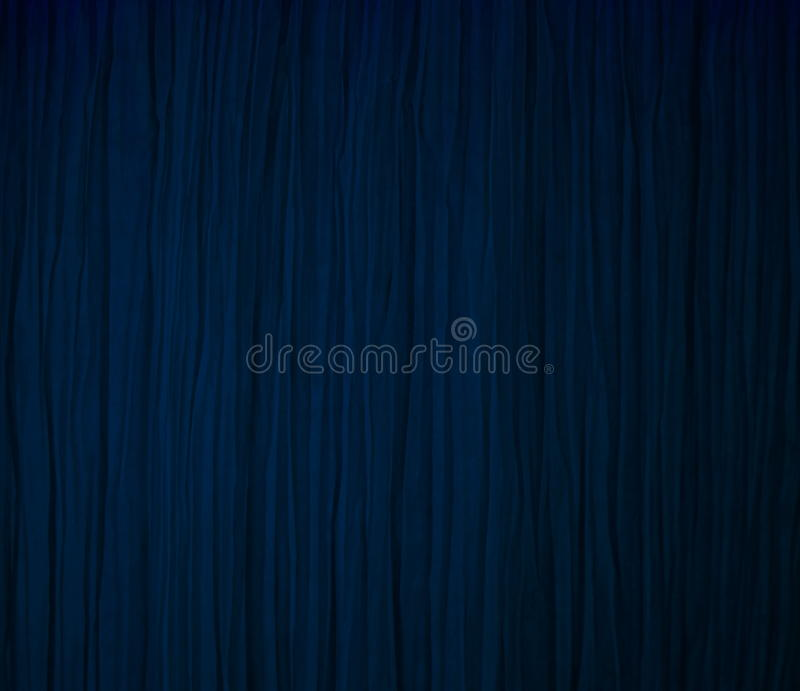 Blue curtain stock images