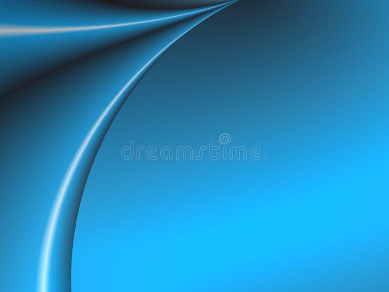 Blue Curtain stock image