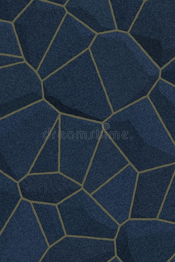 Blue dark stone texture vector illustration