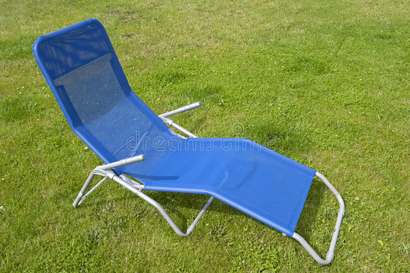 Download Blue deckchair stock photo. Image of blue, intimate, calm - 25766664