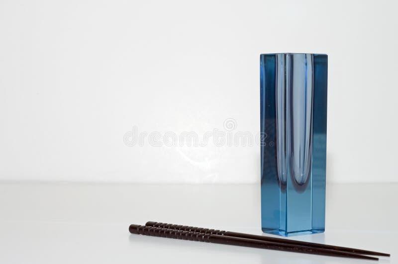 Blue Deco Vase Royalty Free Stock Photo