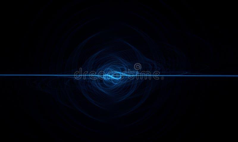 Blue decorative element stock images