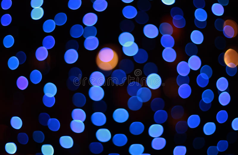 Download Blue Defocus Spots Background Stock Photo - Image: 12808780