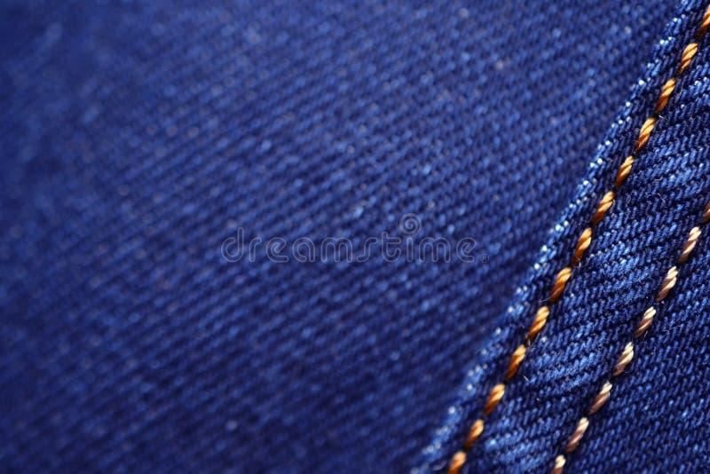 Blue denim