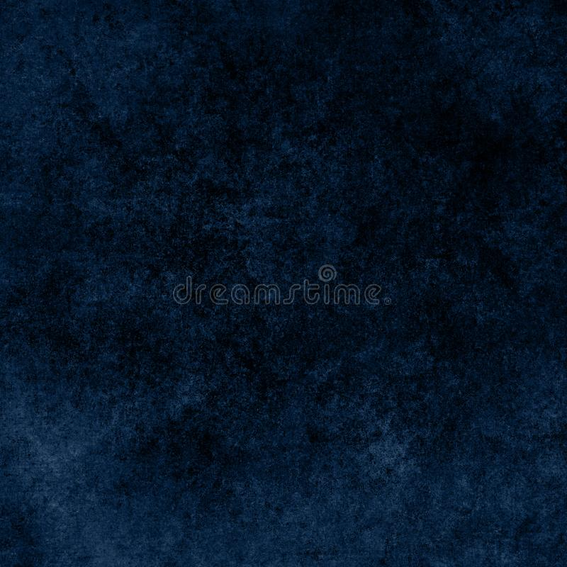 Blue designed grunge texture. Vintage background with space for text or image royalty free illustration