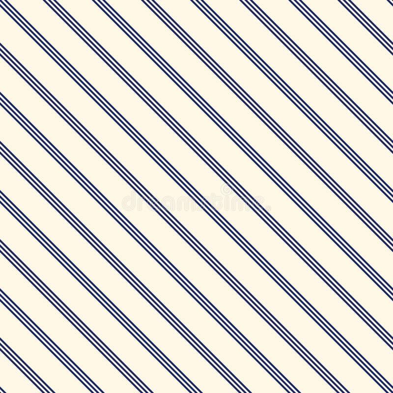Blue Diagonal Stripes Abstract Background Thin Slanting