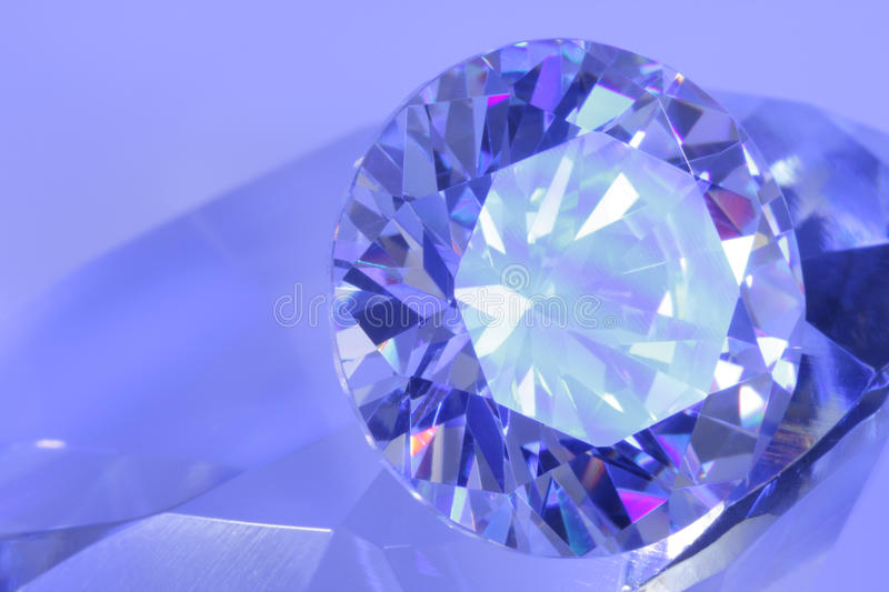 Download Blue Diamond View 60 Degrees Stock Photo - Image: 10744322