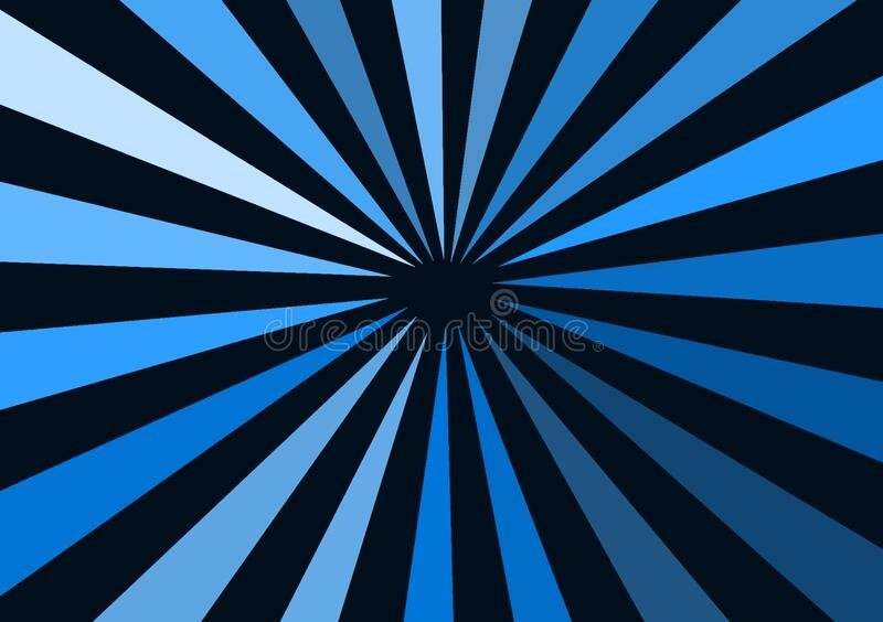 Blue different shade lines representing depth of space. Blue different lines representing depth of space for use with design layouts and content creation vector illustration