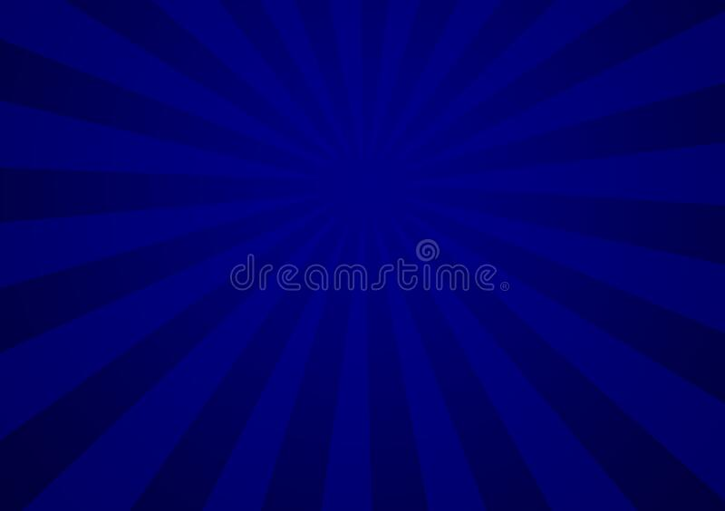 Blue different shade lines representing depth of space. Blue different lines representing depth of space for use with design layouts and content creation stock illustration