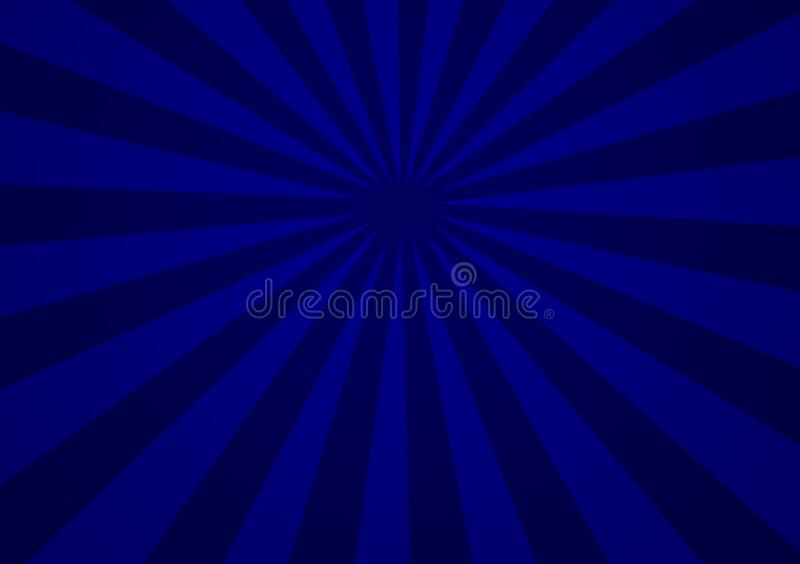 Blue different shade lines representing depth of space. Blue different lines representing depth of space for use with design layouts and content creation royalty free illustration
