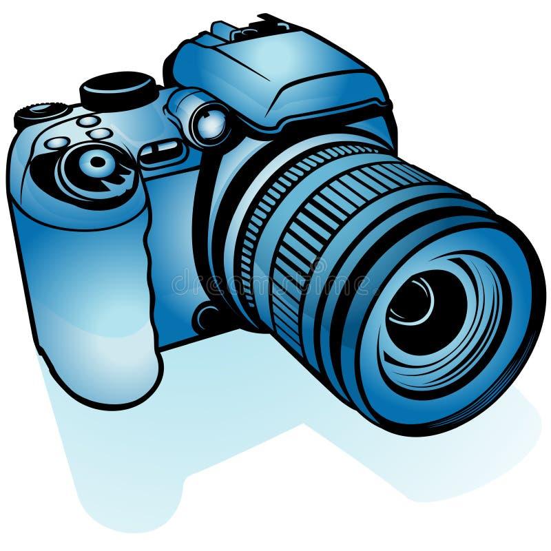 blue digital camera stock vector illustration of clipart 8229414 rh dreamstime com digital camera clipart black and white