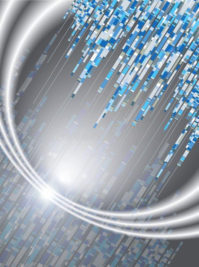 Download Blue Digital Code Light Flare Stock Vector - Image: 2677628